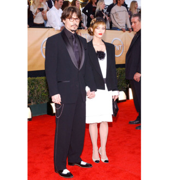 Johnny Depp Vanessa Paradis aux Screen Awards en 2005