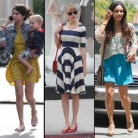 Taylor Swift, Selena Gomez... en robe printanire 