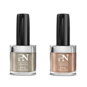 Vernis Anti Shock'in et Gold Reflection Pronails à 12,50 euros l'unité