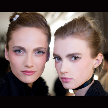 Maquillage Chanel Les Aquarelles : backstage défilé