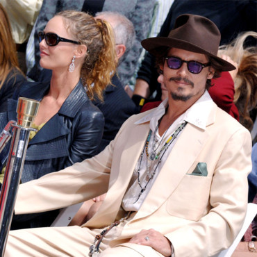 Johnny Depp Vanessa Paradis en 2005