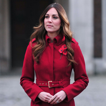 Kate Middleton au Kensington Palace à Londres le 7 novembre 2013