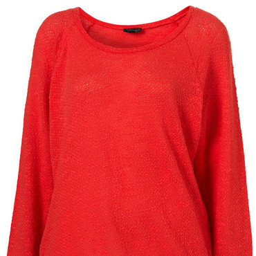 Topshop pull corail