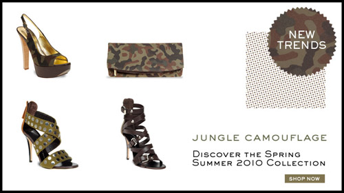 Giuseppe Zanotti collection camouflage 500