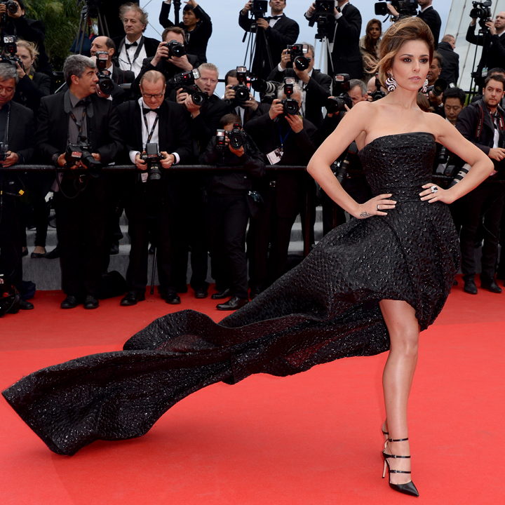 Cheryl Cole à la projection du film Foxcatcher au Festival de Cannes 2014 le 19 mai 2014