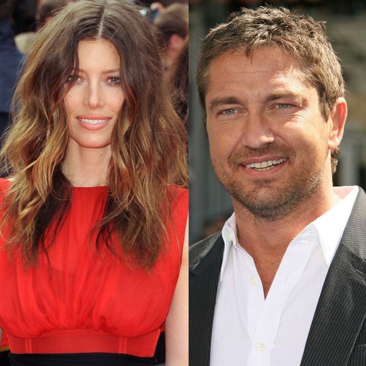Gerard Butler couple