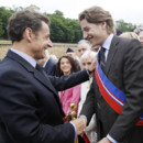 Nicolas Sarkozy et Jean Sarkozy