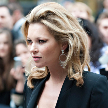 Kate Moss et son brushing de lionne