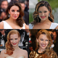 Cannes 2012 : Kylie Minogue, Kirsten Dunst... la coiffure rtro fait des vagues