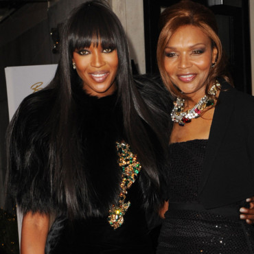 Naomi Campbell et sa maman aux British Fashion Awards
