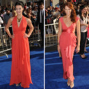 Tendance orange Jaimie Alexander et Amanda Righetti
