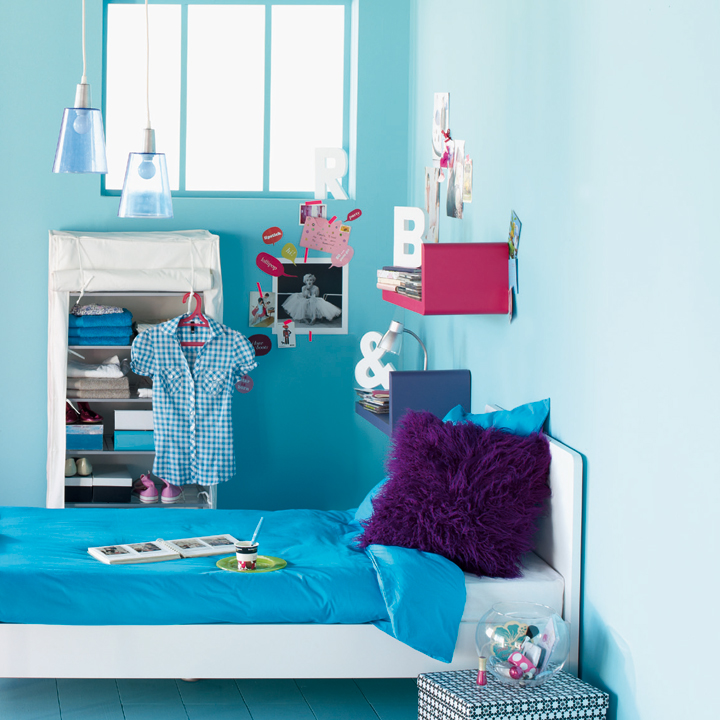 Alin a la nouvelle collection fait l 39 unanimit for Chambre fille bleu