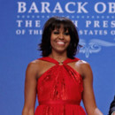 Michelle Obama en Jason Wu lors de l&#039;investirure de Barack Obama