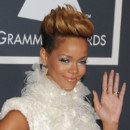 Rihanna aux Grammy Awards 2010