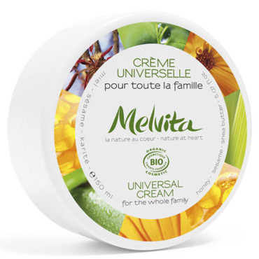 Soins corps : Melvita crème universelle