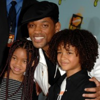 Photo : Will Smith et ses enfants