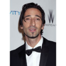 Adrien brody barbe bouque aux Golden Globes 2011