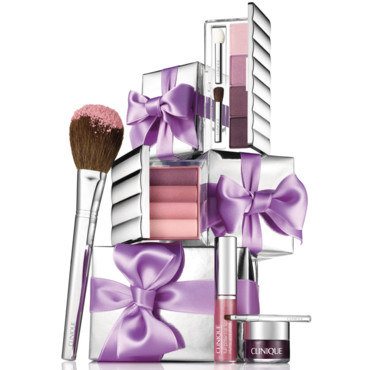 Coffret maquillage Clinique Black tie violet