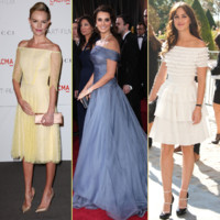 Penelope Cruz, Leighton Meester... fans du low shoulders