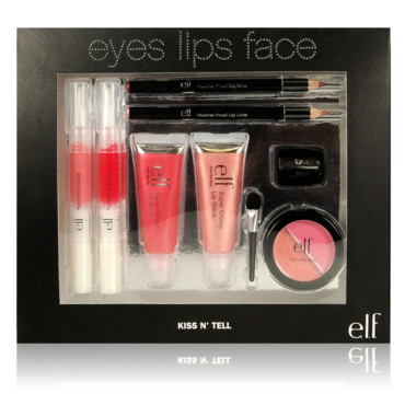 Coffret maquillage Noël elf Kissn'tell