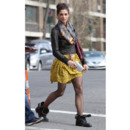Ashley Greene et sa robe Topshop jaune