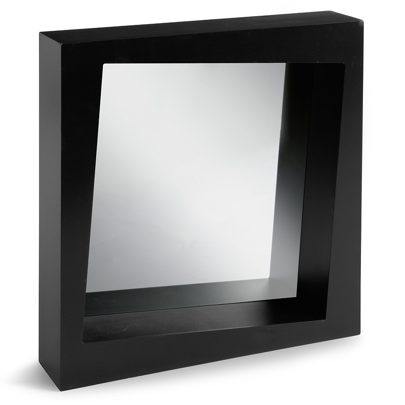 12 miroirs fantaisie pour gayer son salon miroir cube castorama d co. Black Bedroom Furniture Sets. Home Design Ideas
