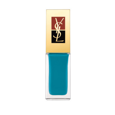 Vernis à ongles Yves Saint Laurent bleu