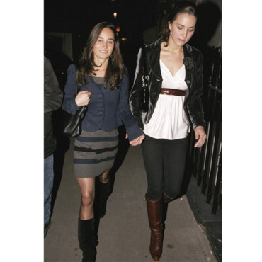 Kate et Pippa Middleton en 2007