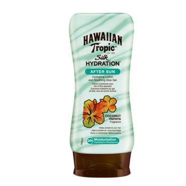 Silk Hydratation After Sun Hawaiian Tropic à 8,95 euros
