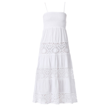 La robe longue blanche Monshowroom 39 euros