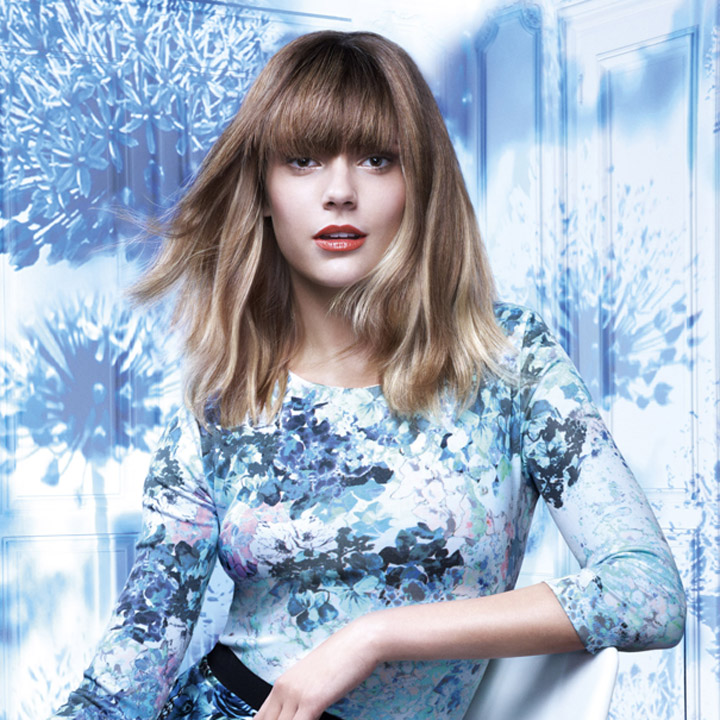 coiffure tie and dye loreal