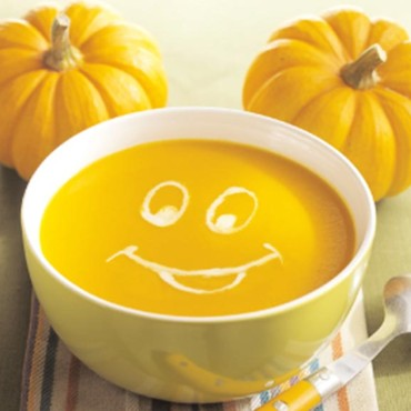 Soupe orange d'Halloween du Chef Mickey