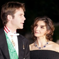 Photo : Clotilde Courau et Emmanuel-Philibert de Savoie