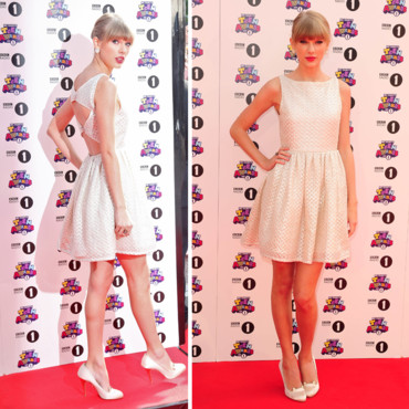 Taylor Swift en total look baby doll
