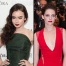 Kristen Stewart (Cannes 2012) VS Lily Collins (Glamour Women of the Year 2012) look beauté Blanche-Neige