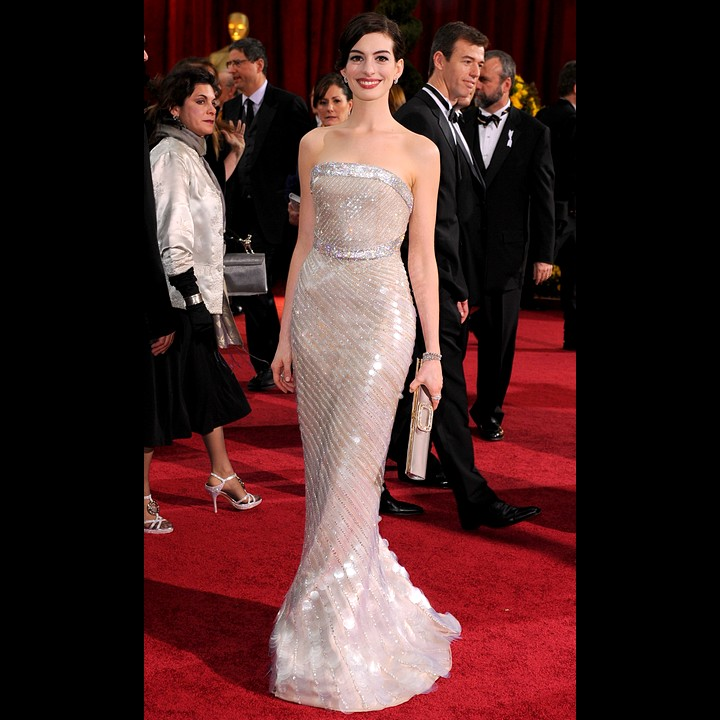 Anne Hathaway Biography: Oscars 2009 : Des Stars Toujours Glamour Sur Le Tapis
