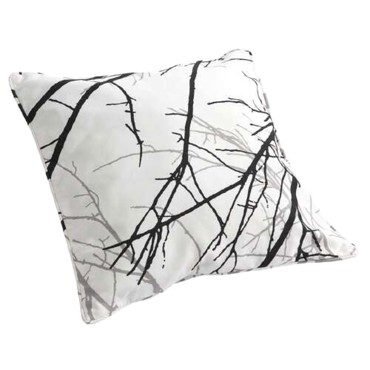 Coussin Willow coloris graphite Leroy Merlin 45 cm x 45 cm 11.90 euros