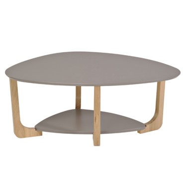 Table basse ovale but for Table basse industrielle pas cher