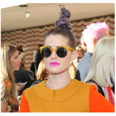 Kelly Osbourne à la Fashion Week de New-York