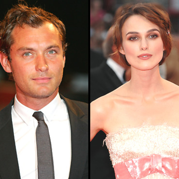 People > Mostra de Venise : Jude Law et Keira Knightley
