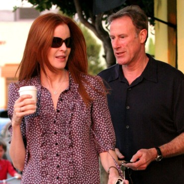 Marcia Cross et son mari Tom Mahoney