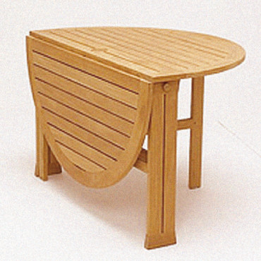 Table rabattable cuisine paris table ronde pliante bois for Table rabattable bois