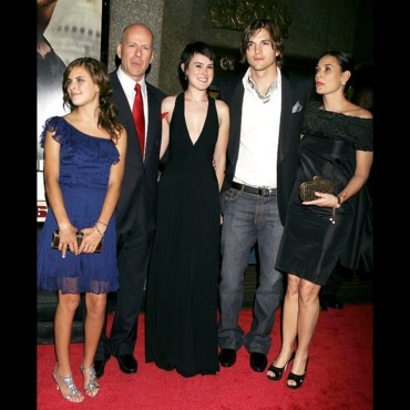 Bruce Willis, Ashton Kutcher, Demi Moore