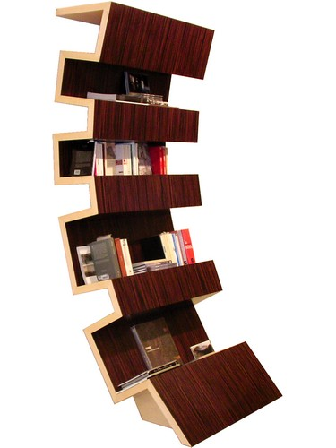 meuble bibliotheque original idees deco accueil design. Black Bedroom Furniture Sets. Home Design Ideas