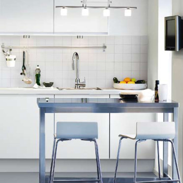 Top interior design ikea backsplash cuisine for Cuisine ikea blanche