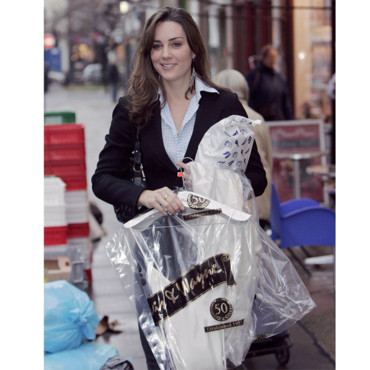 Kate Middleton en séance shopping en 2006