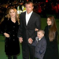 Photo : Madonna, Guy Ritchie, Lourdes et Rocco