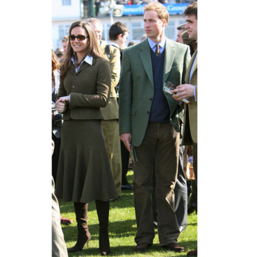 Kate Middleton et William en 2007