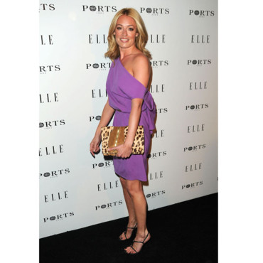 Cat Deeley et sa robe violette