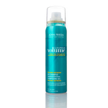 Shampoing sec volume refresh John Frieda 8,50 euros